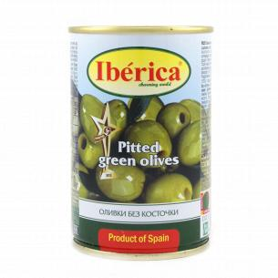 Оливки Iberica зелені без...