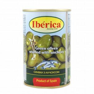 Оливки Iberica з анчоусом