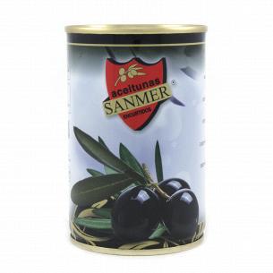 Оливки Sanmer чорні з...