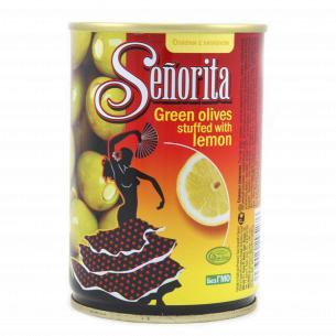 Оливки Senorita Испанские с лимоном