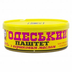 Паштет Онисс Одесский печеночный со сливочным маслом