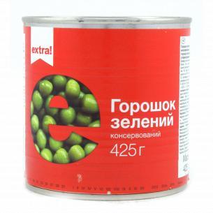 Горошек Extra! зеленый с мозговых сортов ж/б