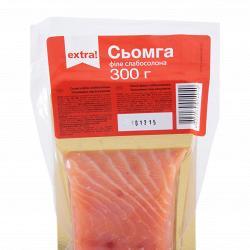 Семга Extra! филе-кусок соленая в/у