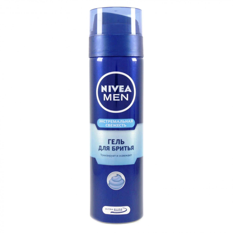Гель для бритья Nivea Экстремальная свежесть