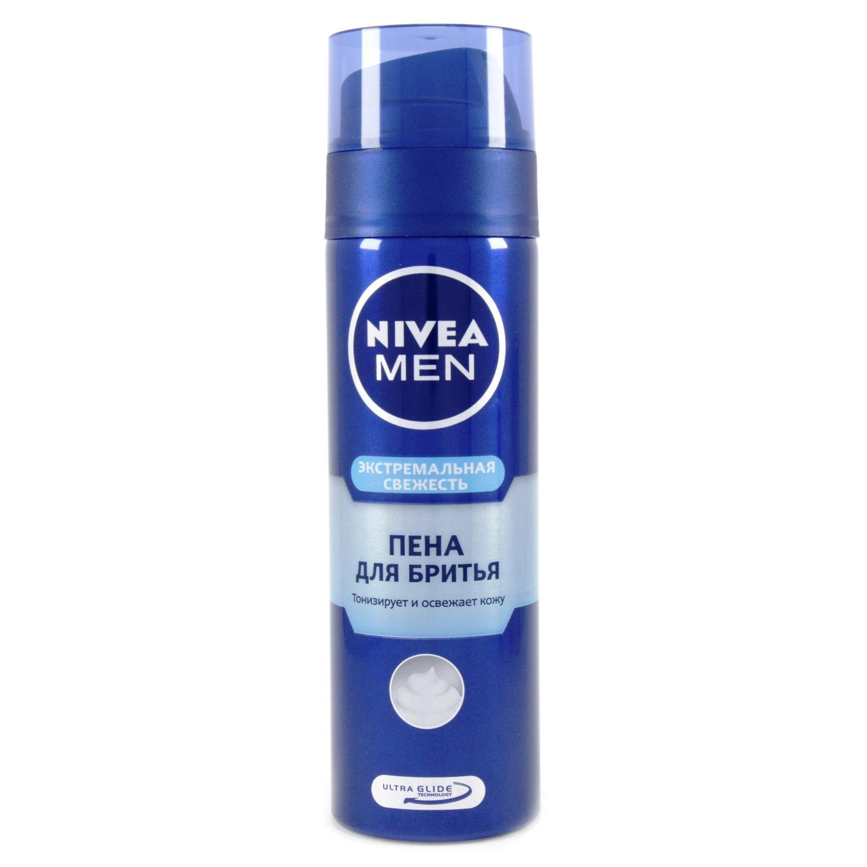 Пена для бритья Nivea Экстремальная свежесть