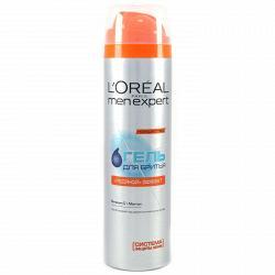 Гель для бритья L`Oreal MenExpert Освежающий эффект