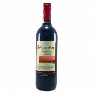 Вино Soldepeñas Tempranillo Garnacha красное полусладкое