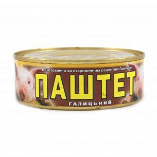 """Паштет """"Галицький смак"""" С мясом свинины"""