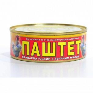 """Паштет """"Прикарпатський"""" с мясом курицы"""