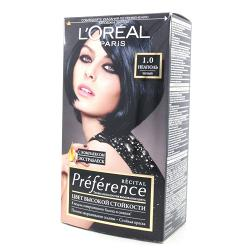 Краска для волос L`Oreal RECITAL Preference тон 1