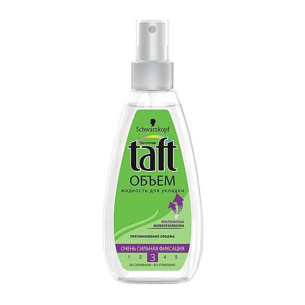 Жидкость для укладки Taft Сила объема