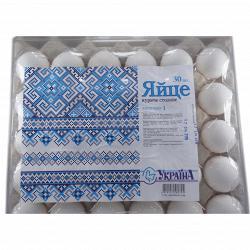 """Яйца куриные """"Ясенсвіт"""" Украина С1"""