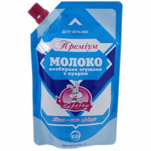 Молоко Заречье Премиум сгущенное цельное 8,5% д/п