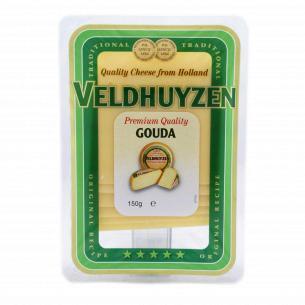 Сыр Veldhuyzen Kaas Гауда из коровьего молока 48% нарезка