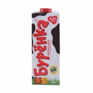 Молоко Буренка суперпастеризованное 3,2%