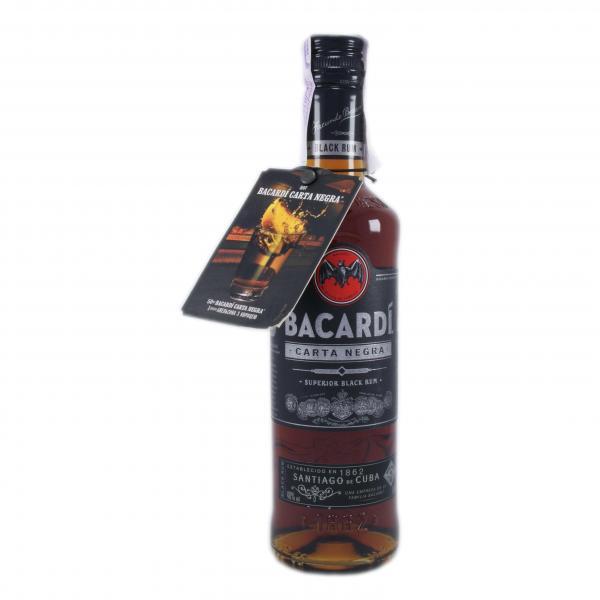 Ром Bacardi Black (carta negra) 40%