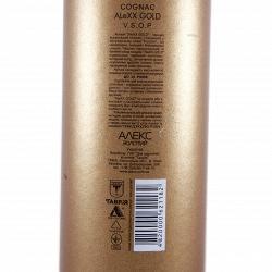 Коньяк ALeXX Gold VSOP в тубусе