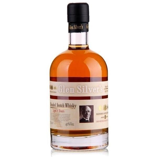 Виски Glen Silver`s Blended Scotch 8 лет