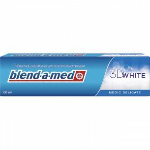Паста зубная Blend-a-med 3D White Бережная мята