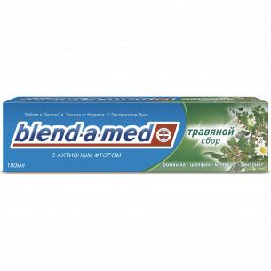 Паста зубная Blend-a-med Анти-Кариес Травяной сбор