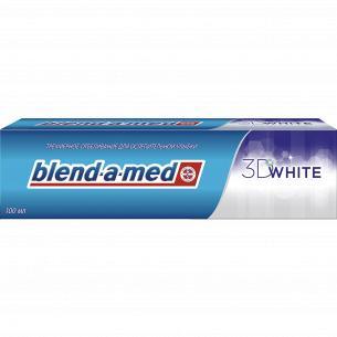 Паста зубная Blend-a-med 3D White