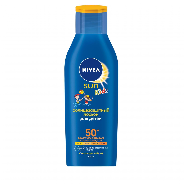 Лосьон солнцезащитный Nivea детский SPF50+