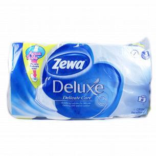 Бумага туалетная Zewа Deluxe Pure 3-слойная белая