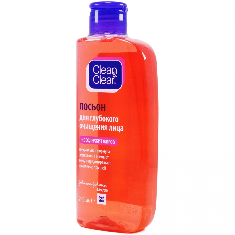 Лосьон Clean&Clear для глубокого очищения