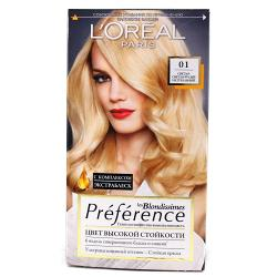 Краска для волос  L`Oreal RECITAL Preference тон 01