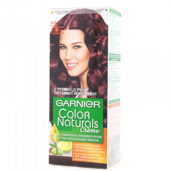 Краска для волос Garnier Color Naturals тон 4.6