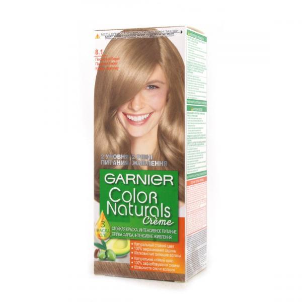 Краска для волос Garnier Color Naturals тон 8.1