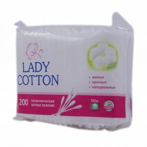 Палочки ватные Lady Cotton
