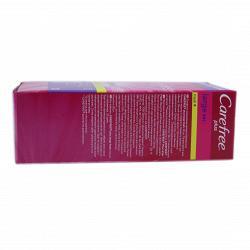 Прокладки гигиенические ежедневные  Carefree Maxi ароматизированные