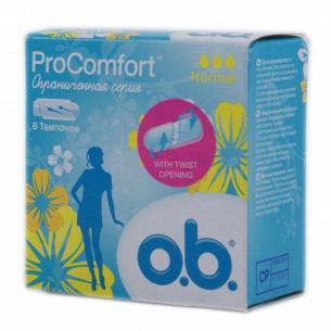 Тампони o.b. ProComfort Normal