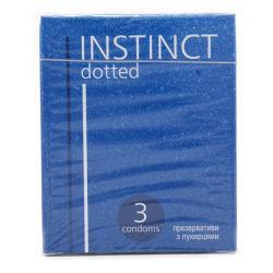 Презервативы  Instinct С пупырышками