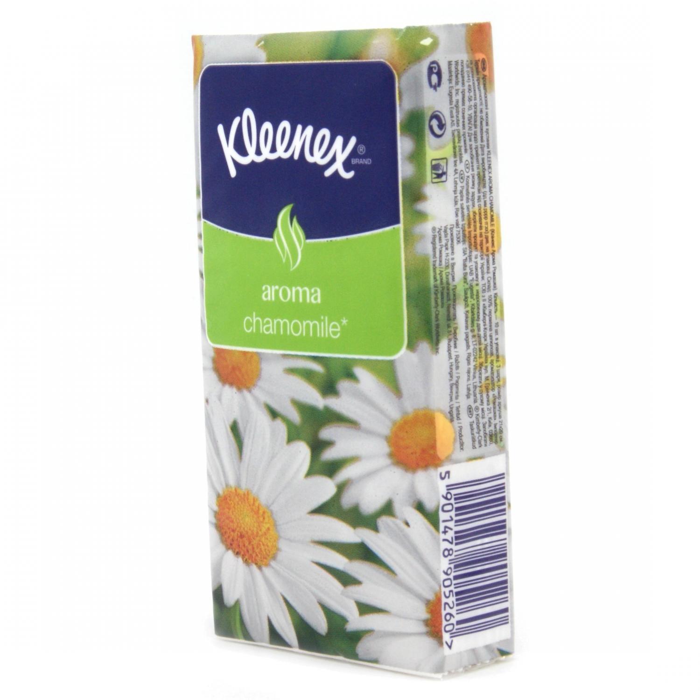 Платочки бумажные Kleenex Ромашка