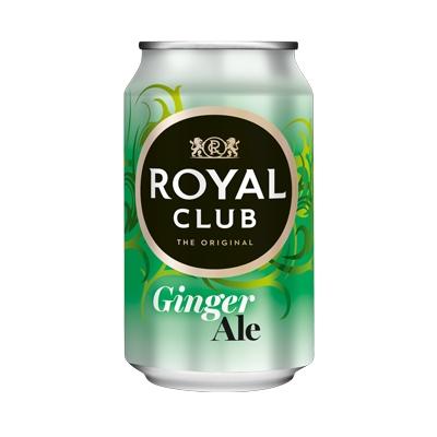Напиток Royal Club Имбирный эль б/алк ж/б