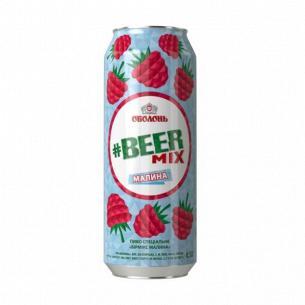 """Пиво """"Оболонь Beermix"""" малина"""