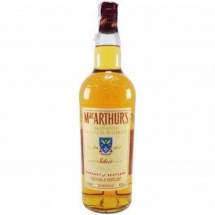 Виски MacArthur`s 40%