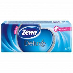 Платочки носовые Zewa Deluxe