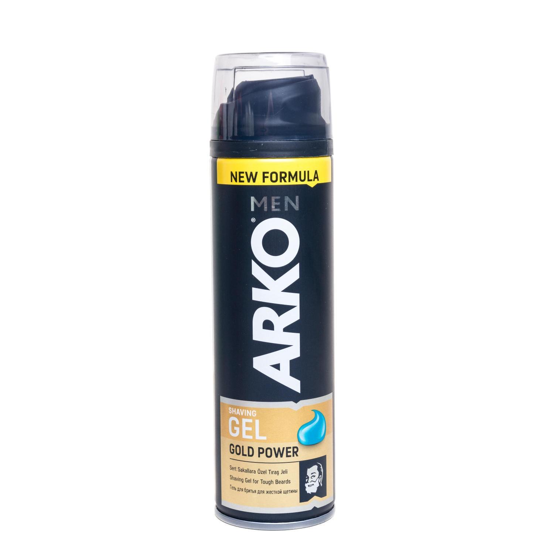 Гель для бритья Arko Gold Power