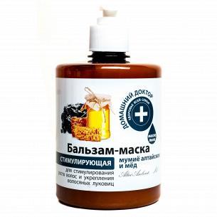 """Бальзам-маска """"Домашний доктор"""" мумие алтайское-мед"""