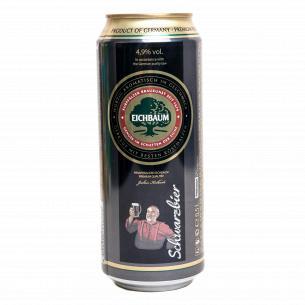 Пиво Eichbaum Premium Schwarzbier темное ж/б