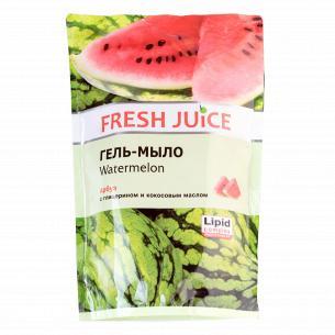 Гель-мыло жидкое Fresh Juice Арбуз запаска