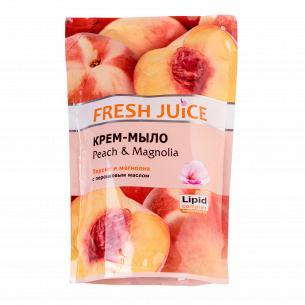 Гель-мыло жидкое Fresh Juice Персик запаска