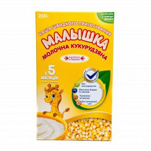 Каша Малышка кукурузная молочная