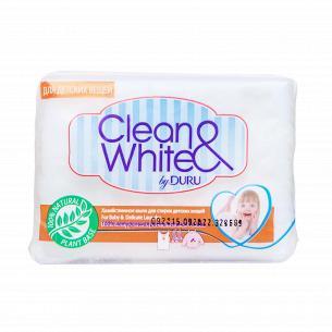 Мылохозяйственное Duru Clean Whiteдля стиркидетских вещей