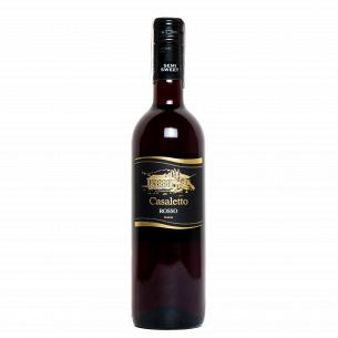 Вино Casaletto Rosso полусухое