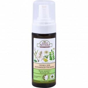 Пенка для интимной гигиены Зеленая Аптека Зеленый чай