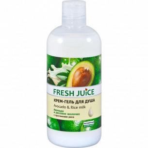 Крем-гель для душа Fresh Juice Avocado&Rice milk